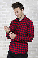 Рубашка в красную клетку, фото 1