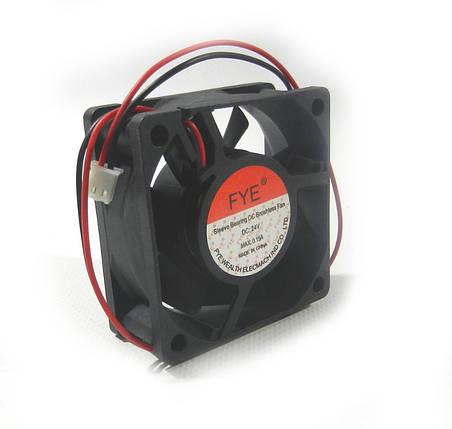Вентилятор  60-60-20 (  24v- 0,15A) FYE пластик, фото 2
