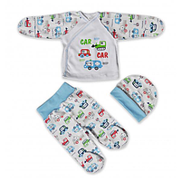 Набор для новорождённого Машинки