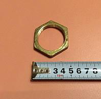 """Гайка латунная шестигранная с внутренней резьбой 1 1/4"""" (42мм) для ТЭНов, фото 1"""