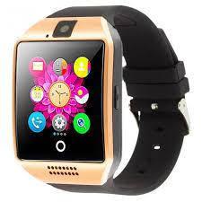 Часы Smart Watch Q18 Gold Гарантия 1 месяц, фото 2