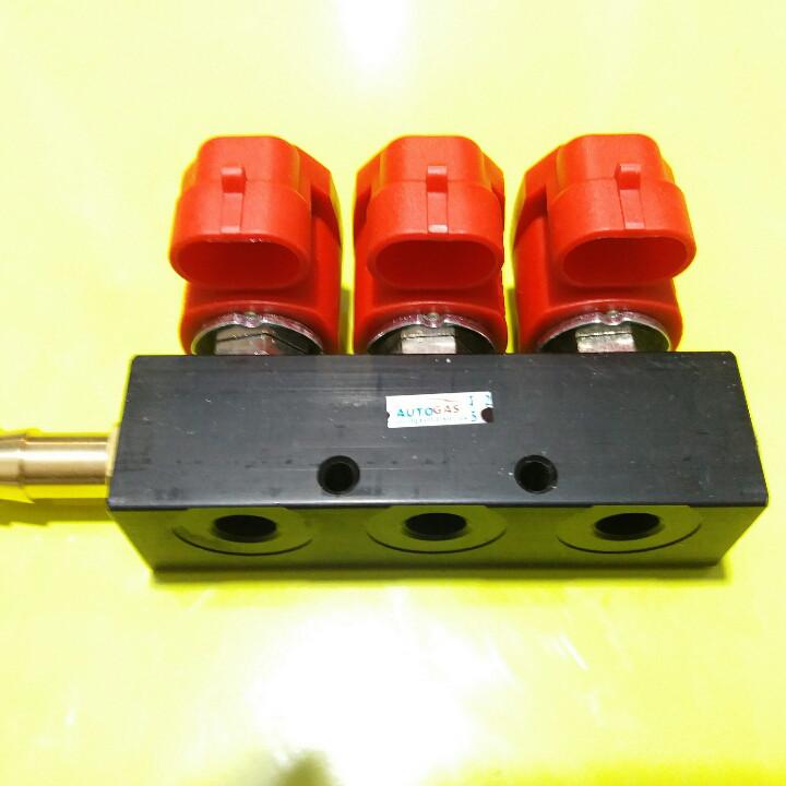 Газовые форсунки Valtek 3om 3 цилиндра.