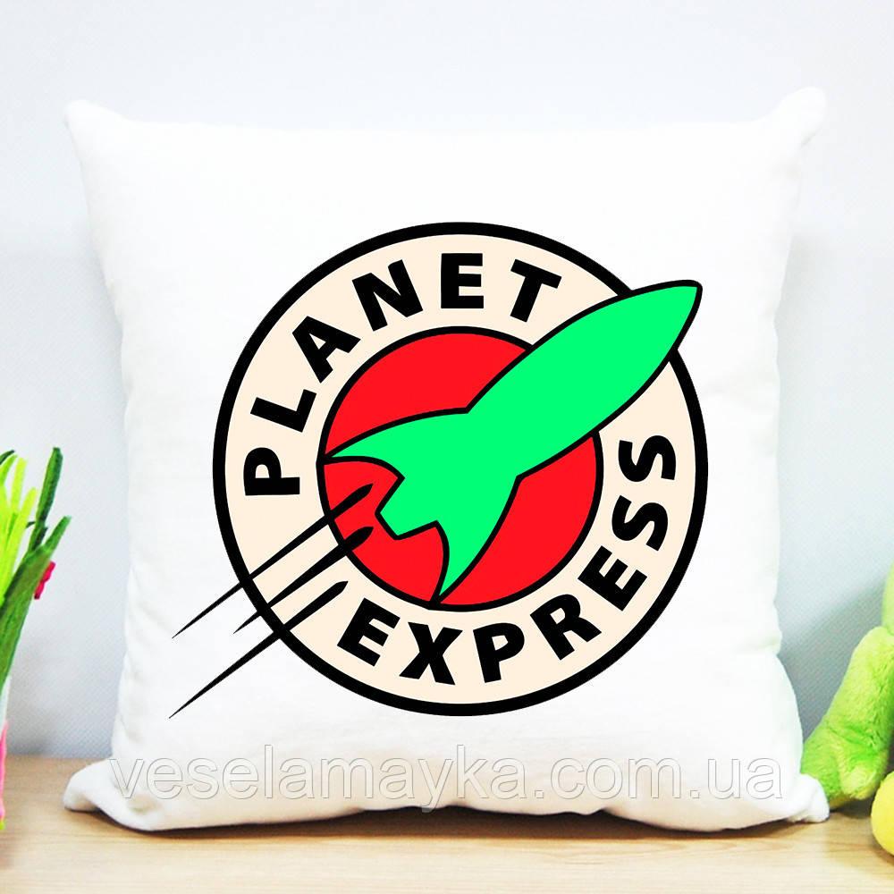 Плюшевая подушка Planet Express (Futurama)