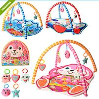 КОВРИК ДЛЯ МЛАДЕНЦА 518-19-20-21, музыкальный коврик, развивающая игрушка для детей