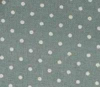 Ткань равномерного переплетения Zweigart Murano Lugana 32 ct. Petit Point 3984/5269 Antique Blue linen & white