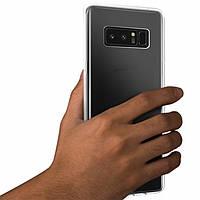 Силиконовый чехол 0,33 мм для Samsung Galaxy Note 8 прозрачный