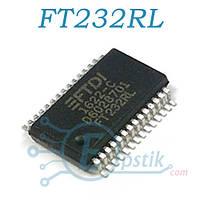 FT232RL, Микросхема интерфейса USB в UART, SSOP28