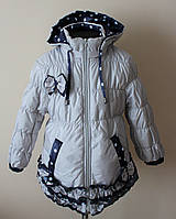 Куртка на девочку,детская,с флисом