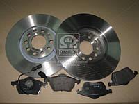 Комплект тормозной передн. AUDI A4 04-, A6 -05,SKODA SUPERB -08,VW PASSAT -05 (пр-во REMSA) 8390.07