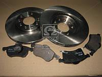 Комплект тормозной передн. OPEL ASTRA G 98-, ZAFIRA 98- (пр-во REMSA) 8683.00