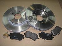 Комплект тормозной передн. MB W202(C CLASS), W203(C CLASS) (пр-во REMSA) 8768.00
