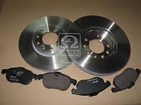 Комплект тормозной передн. OPEL VECTRA C 02-, SAAB 9-3 02- (пр-во REMSA) 8888.00