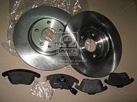 Комплект тормозной передн. SEAT ALTEA, TOLEDO, SKODA OCTAVIA,VW GOLF, JETTA, PASSAT (пр-во REMSA) 81030.02