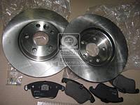 Комплект тормозной передн. FORD GALAXY, MONDEO IV; VOLVO S60 (пр-во REMSA) 81219.00