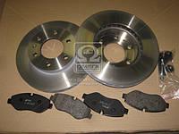 Комплект тормозной передн. MB SPRINTER(906) 06-,VW CRAFTER 2.5TDI 06- (пр-во REMSA) 81245.00