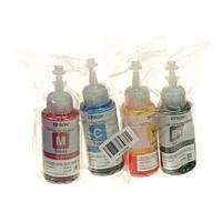 Комплект контейнеров с чернилами Epson для L110/L210/L300 B/C/M/Y Yellow, Magenta, Cyan, Black