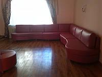 Угловой диван в зал. Мягкая мебель на заказ Днепр.
