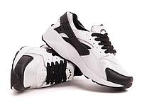Кроссовки женские черно белые реплика Nike Huarache ( хуарачи)