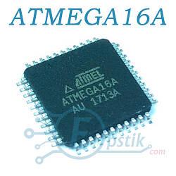 ATMEGA16A-AU, мікроконтролер TQFP44