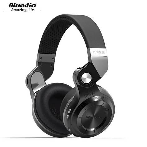 Навушники (гарнітура) Bluedio T2s Black, фото 2