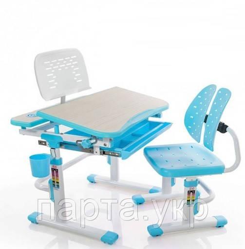 Детская парта, стул и подставка для книг Evo-kids Evo-05