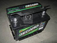 Аккумулятор   60Ah-12v DECARO (242x175x175),L,EN600 6CТ-60 АЗ (1)
