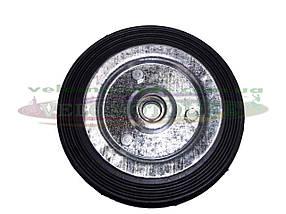 Колесо Ø 125 мм (ось Ø12 мм) на тачку кравчучку