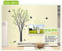 """Фотообои на стену виниловые, интерьерная наклейка """"Дерево"""""""