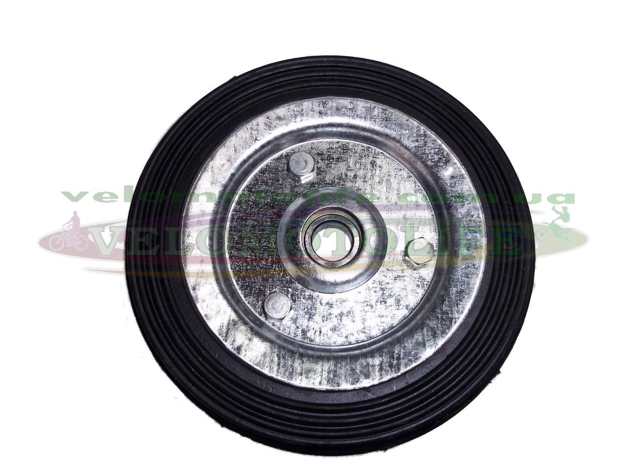 Колесо  Ø 125 мм (ось Ø15 мм) на тачку кравчучку