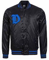 100% Оригинал Клубная мужская зимняя осенняя куртка баскетбольная бомбер Nike Basketball Duke чёрная