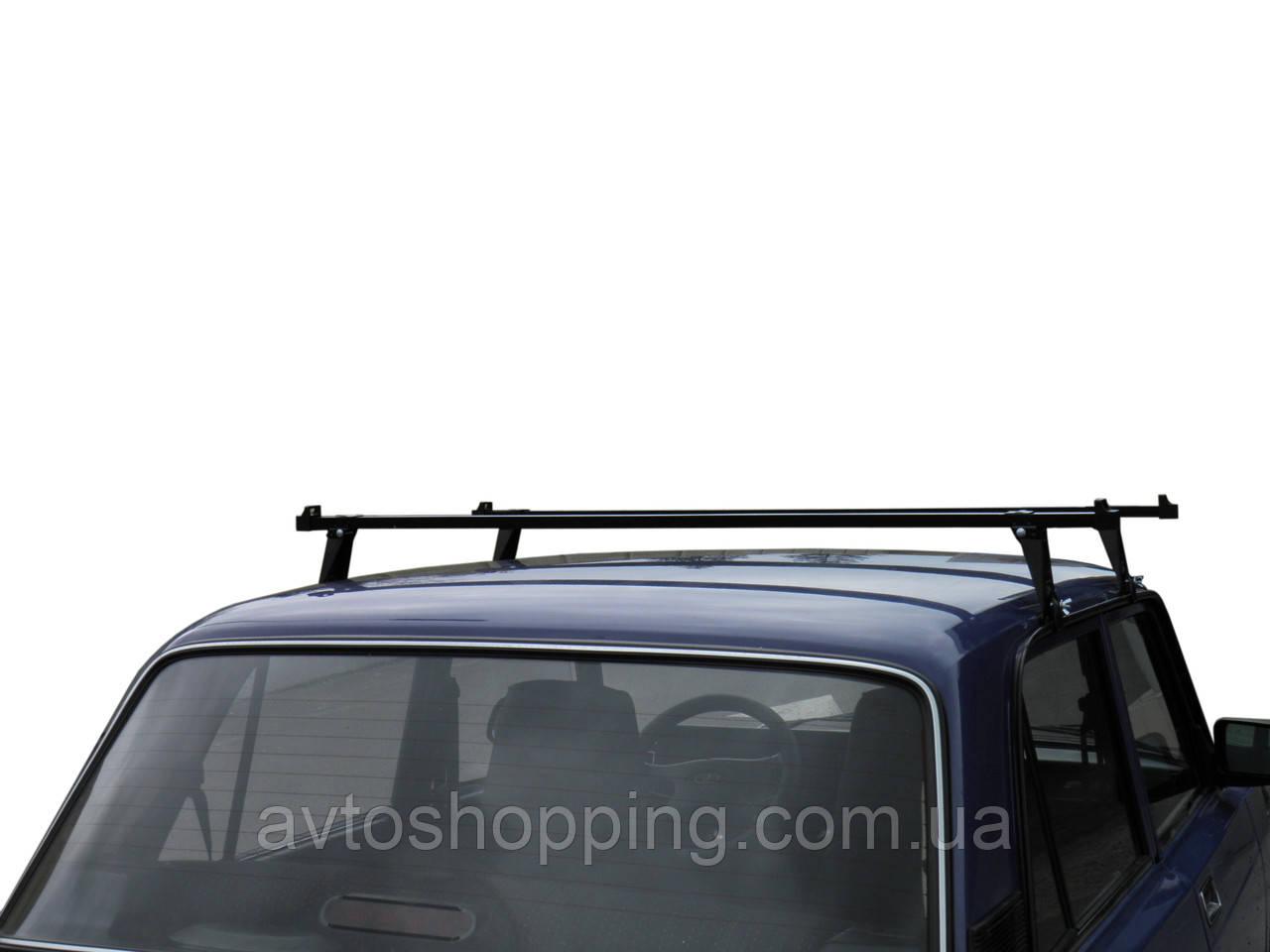 Багажник на крышу UNI, для автомобилей с водостоком ВАЗ, Таврия, Кадет