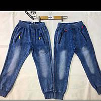Джинсовые брюки на манжетах  для мальчиков оптом F&D