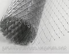 Сетка просечно-вытяжная оцинкованная 17х40х0,5 (10кв.м)