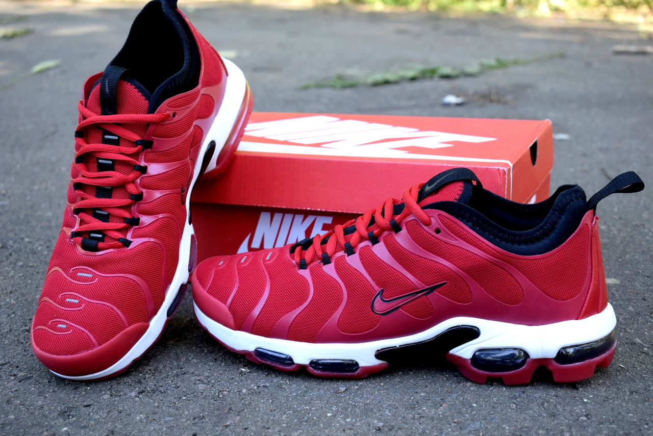386d2acb Nike Air Max TN Plus red кроссовки мужские найк аир макс тн плюс красные -  ООО