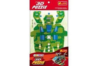"""Игрушки 3Д пазлы: """"Космический корабль 1"""""""