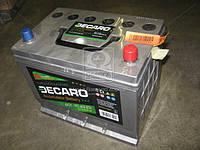 Аккумулятор 70Ah-12v (DECARO) (259х175х220),R,EN640 (азия) 6СТ-70A1E