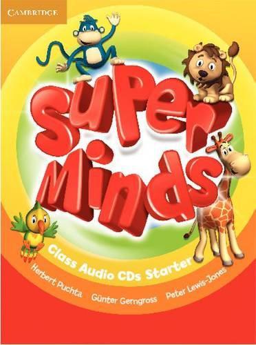 Super Minds Starter Class Audio CDs