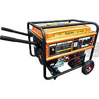 Бензогенератор однофазний 5.5 кВт, Буран БГ 7055С, електрогенератор, бензиновий генератор, мініелектростанція