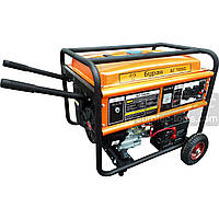 Бензогенератор однофазный 5.5 кВт, Буран БГ 7055С, электрогенератор, бензиновый генератор, миниэлектростанция