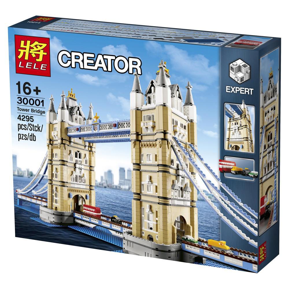 Конструктор Lele 30001 Креатор Тауэрский мост (аналог Lego Creator 10214)