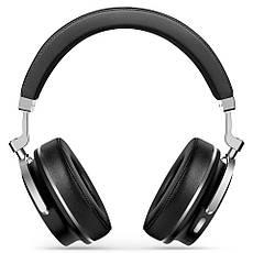 Бездротові навушники (гарнітура) Bluedio T4 Black, фото 2