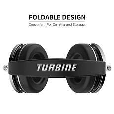 Бездротові навушники (гарнітура) Bluedio T4 Black, фото 3