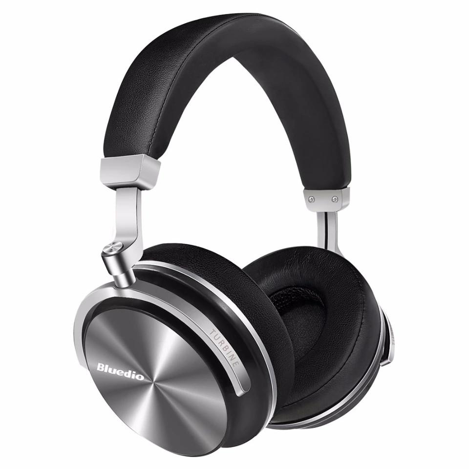 Бездротові навушники (гарнітура) Bluedio T4 Black