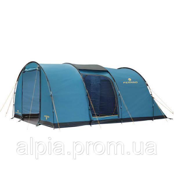 Пятиместная палатка Ferrino Trilogy 5 Blue
