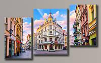 Картина модульная HolstArt Польша 72*122см 3 модуля арт.HAT-145