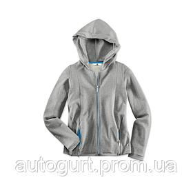 Женская спортивная куртка BMW i Sweet Jacket Ladies Grey Melange