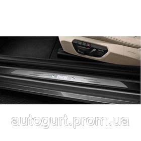 Светодиодные накладки на пороги BMW 4 (F32/F82)