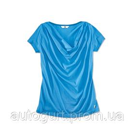 Женская футболка BMW i T-Shirt Ladies Blue