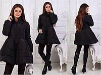 Женское cтильное пальто-kolokolcikLu2018 7цветов вналичии