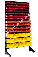 Стеллаж складской металлический с боксами на 117 шт. Шумск, фото 1